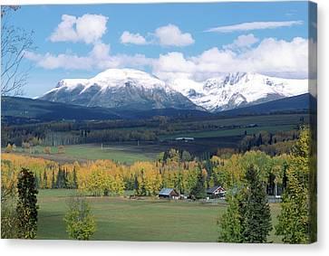 Babine Range-fall View Canvas Print