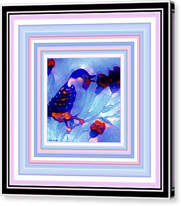 Baby Bird Canvas Print