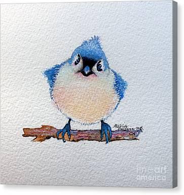 Canvas Print - Baby Bluebird by Marcia Baldwin