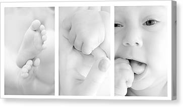 Baby Details Canvas Print
