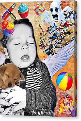 Baby Dreams Canvas Print