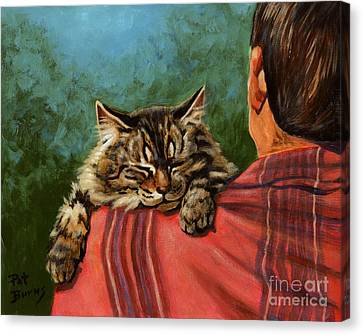 Babyface Canvas Print by Pat Burns