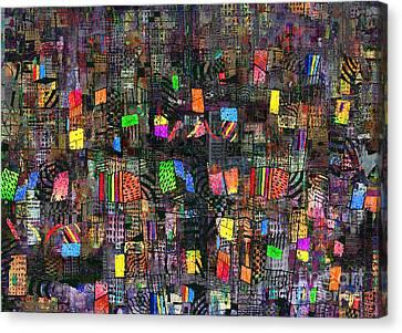 Babylon Canvas Print by Andy  Mercer