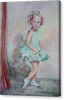 Baby's Debut Canvas Print