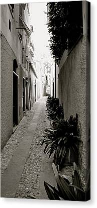 Back Alley Canvas Print by Corinne Rhode