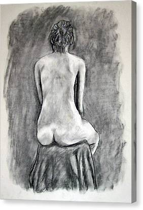Back Beauty Canvas Print by Jean Haynes