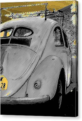 Back In Time Canvas Print by Sean Presher-Hughes