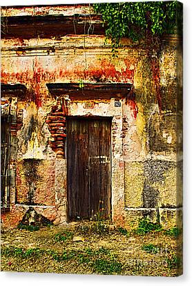 Back Lot By Darian Day Canvas Print by Mexicolors Art Photography