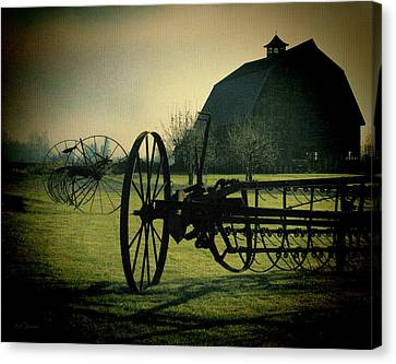 Back On The Farm Canvas Print by DMSprouse Art