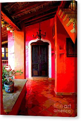 Back Passage By Darian Day Canvas Print by Mexicolors Art Photography
