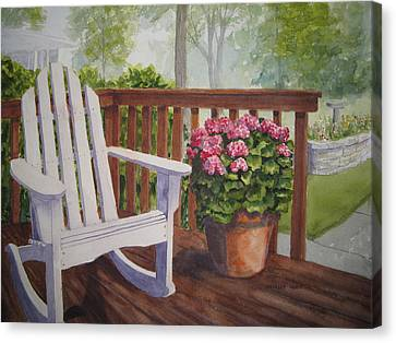 Back Porch Canvas Print