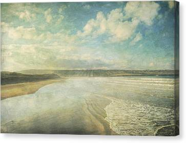Back Strand 6 Canvas Print by Marion Galt
