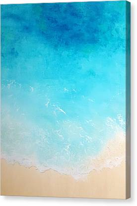 Back To The Beach Canvas Print