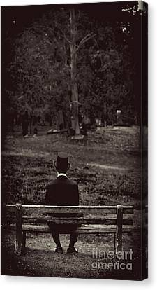 Melancholy Canvas Print - Back To The Past by Jorgo Photography - Wall Art Gallery