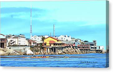 Fishermans Wharf 2 Canvas Print