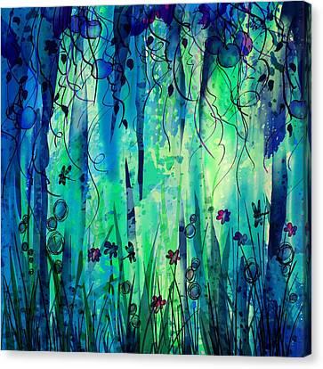 Backyard Dreamer Canvas Print by Rachel Christine Nowicki