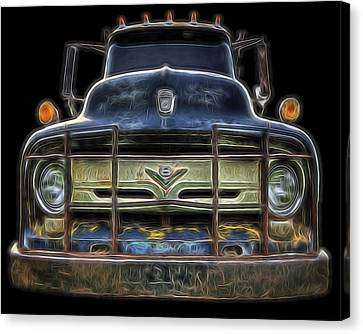 Bad 56 Ford Canvas Print