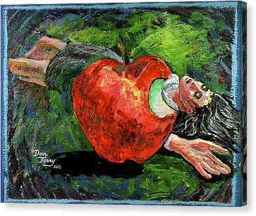 Bad Apple Canvas Print by Dan Terry