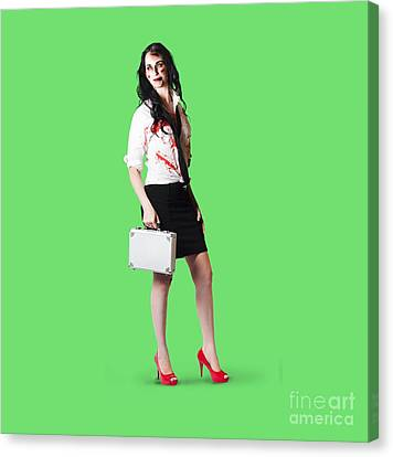 Bad Day At The Office Canvas Print by Jorgo Photography - Wall Art Gallery