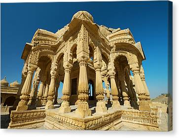 Canvas Print featuring the photograph Bada Bagh  by Yew Kwang