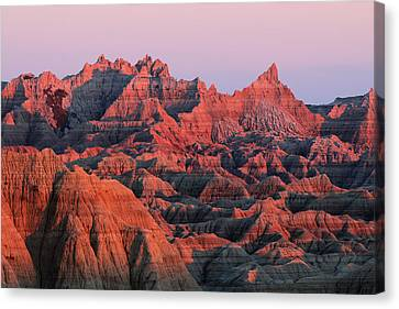 Badlands Dreaming Canvas Print