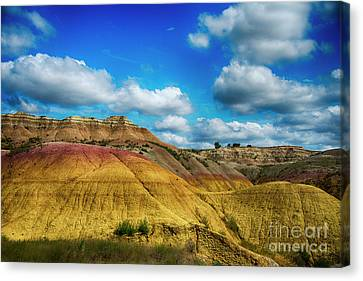 Badlands National Park Canvas Print by Jennifer Stackpole