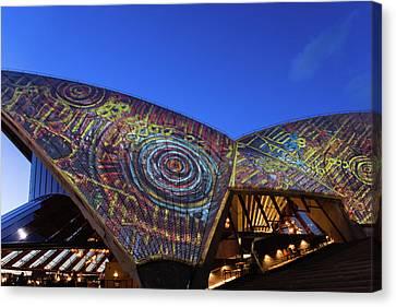 Canvas Print - Badu Gili Light Show  by Steven Richman