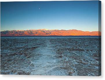 Canvas Print featuring the photograph Badwater  by Catherine Lau