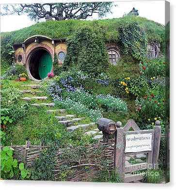 Bag End Canvas Print by Anthony Forster
