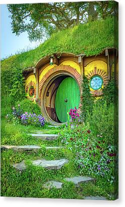 Christian Canvas Print - Bag End by Racheal Christian