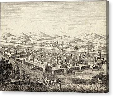 Bagdad Iraq In Late 18th Century Canvas Print