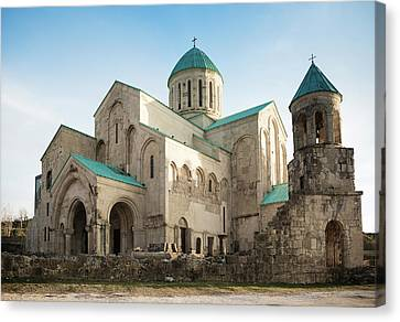 Bagrati Cathedral Canvas Print by Svetlana Sewell