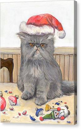 Bah Humbug Canvas Print by Donna Tucker