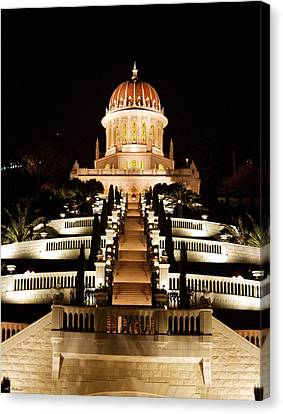 Bahai Shrine Canvas Print by Arik Baltinester