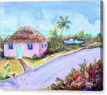 Bahamian Island Shack Canvas Print
