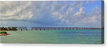 Bahia Honda Canvas Print by Sean Allen