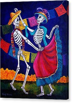 Dia Canvas Print - Bailando by Candy Mayer