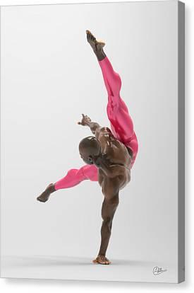 Bailarin Acrobata Canvas Print