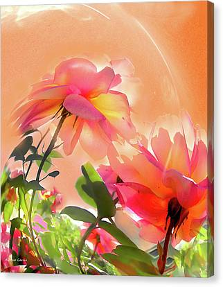 Canvas Print featuring the photograph Baile Floral by Alfonso Garcia