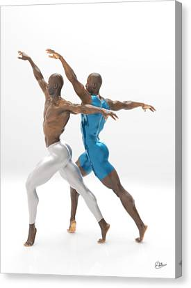 Baile Sincronizado Canvas Print
