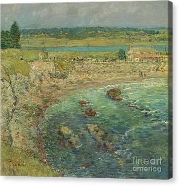 Bailey's Beach  Newport  Rhode Island Canvas Print