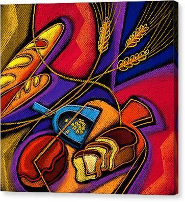 Baked Goods Canvas Print by Leon Zernitsky