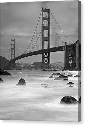 No People Canvas Print - Baker Beach Impressions by Sebastian Schlueter (sibbiblue)