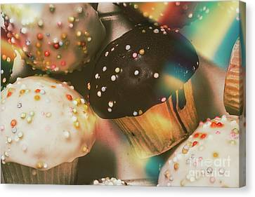 Bakers Cupcake Delight Canvas Print