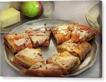 Canvas Print - Bakery - Apple Danish by Mike Savad