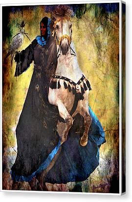 Bakhtiari Falconess Canvas Print