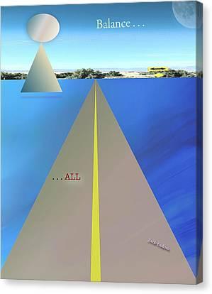 Balance All Canvas Print by Jack Eadon