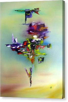 Balance Canvas Print by David Hatton