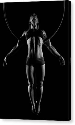 Balance Of Power - Symmetry Canvas Print by Monte Arnold