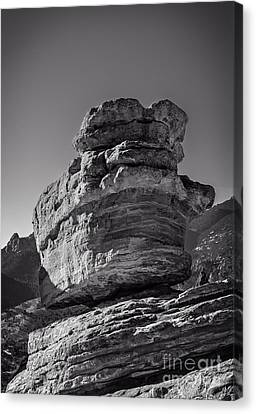 Balanced Rock Canvas Print by Charles Dobbs
